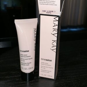 Other - MaryKay Ivory 2 matte liquid foundation